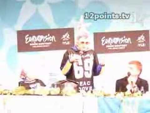 Watch Verkas Press conference in Helsinki 2007