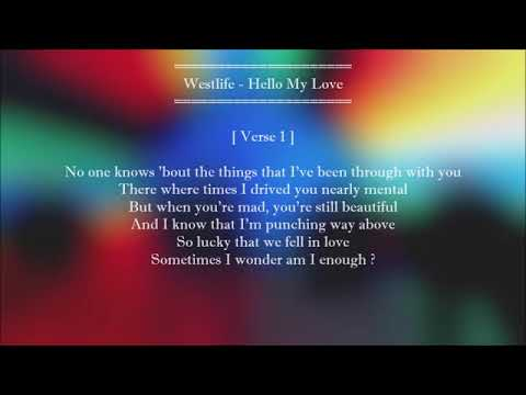 Hello my love new single song of westlife with lyrics