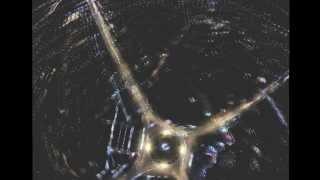 Ночное Московское кольцо ( Аэросъемка Skyview Crimea)