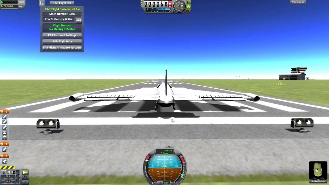 Kerbal Space Program - Procedural Wings Mod - YouTube