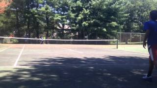 Tennis Games Drills - Kids, Adults - King of the Court