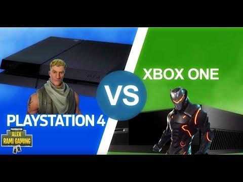 PS4 VS XBOX ONE | FORTNITE LIVE STREAM - YouTube