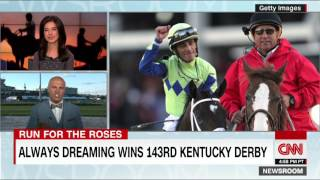 143rd Kentucky Derby - Always Dreaming Wins