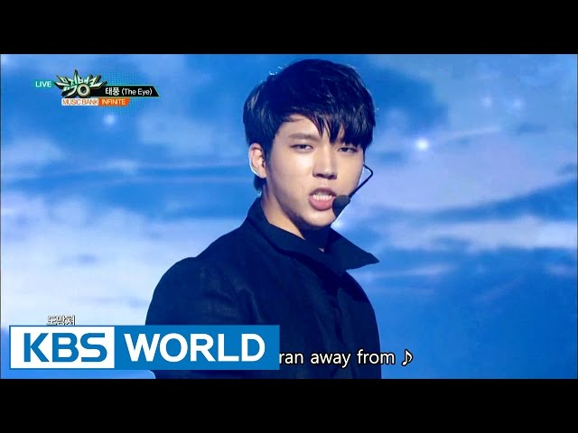 INFINITE - One Day / The Eye (태풍) [Music Bank COMEBACK / 2016.09.23]
