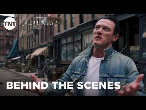The Alienist: Luke Evans Gives A Tour of the Set - Series Premiere January 22, 2018 [BTS] | TNT