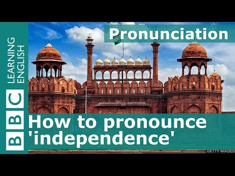 How to say 'independence'