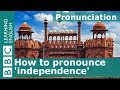 How to say independence