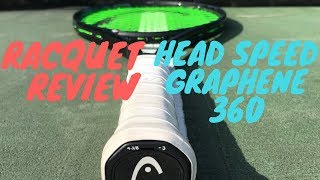 HEAD Speed Graphene 360 | REVIEW and PLAY TEST (HD)