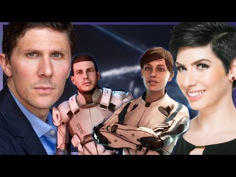 Mass Effect Andromeda - Interview with Sarah & Scott Ryder (Tom Taylorson + Fryda Wolff)