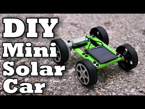 DIY Mini Solar Car!