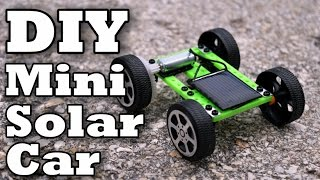 DIY Mini Solar Car!
