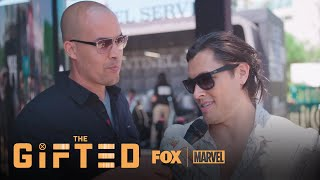 Coby Bell & Blair Redford Pull A Mutant Hunting Stunt At Comic-Con | Season 1 | THE GIFTED