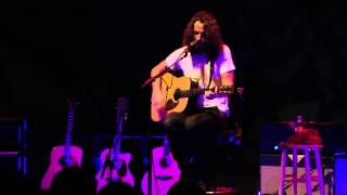 """Chris Cornell """"Betterman"""" Acoustic Pearl Jam cover, Vancouver, BC. (2011)"""