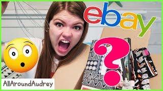 OPENING MYSTERY EBAY BOXES WORTH $105?! / AllAroundAudrey