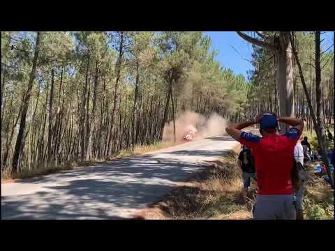 Rally de Ourense | El espectacular accidente del coche de Emilio Vázquez y Héctor Rodríguez