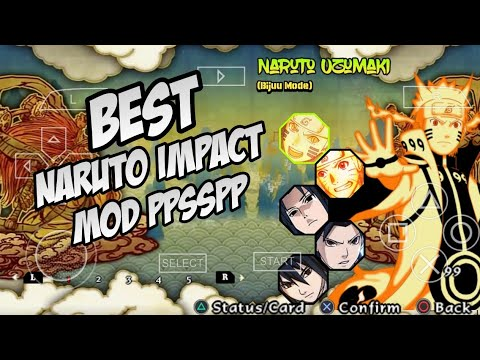 DOWNLOAD Mod Naruto Ultimate Ninja Impact Terbaik PPSSPP ANDROID