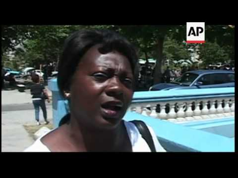Reaction after Catholic Church says Cuba to release dissidents from 2003