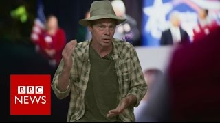 Comedian Rich Hall breaks down the US election - BBC News