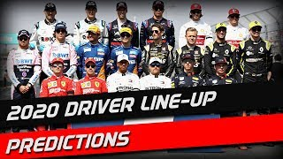 2020 Driver Line-Up Predictions