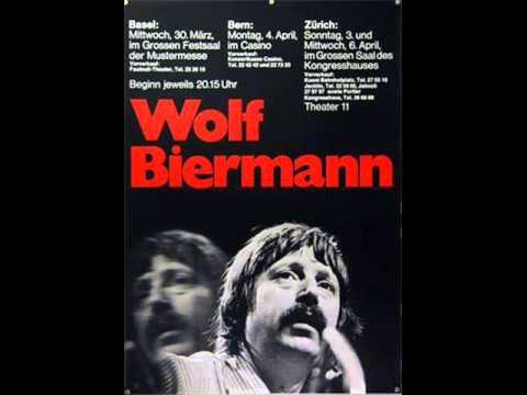 Wolf Biermann Bern 4 4 1977