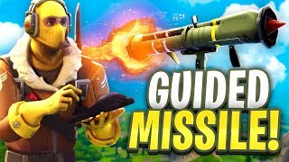 NEW GUIDED MISSILE LAUNCHER! - Fortnite Battle Royale LIVE
