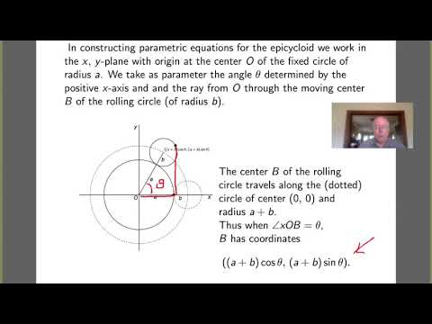 Parametric Equations II - The Epicycloid