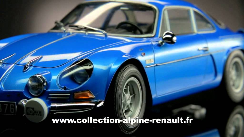 construisez la renault alpine a110 d tails du mod le youtube. Black Bedroom Furniture Sets. Home Design Ideas