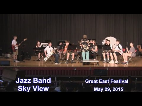 Leominster Sky View Band ...at Great East Festival 2015