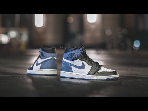 "Review & On-Feet: Air Jordan 1 Retro High OG ""Blue Moon"""
