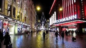 Helsinki Christmas Lights Tour, December 2013 - Finland