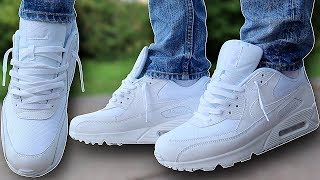 How To Lace Nike Air Max 90s Loosely (THE BEST WAY!!)