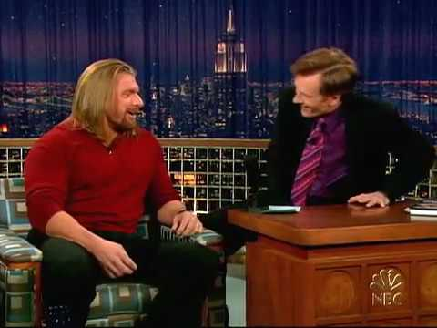 Conan O'Brien 'Triple H 12/15/04