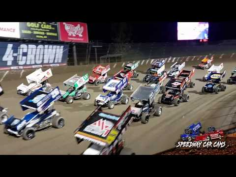 Inches above  Eldora Speedway - World of Outlaws Sprint Car Series - 9-27-19