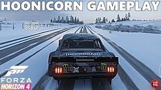 Forza Horizon 4: HOONICORN GAMEPLAY! OFF-ROAD PARK IN SNOW!! BONUS BOARDS!
