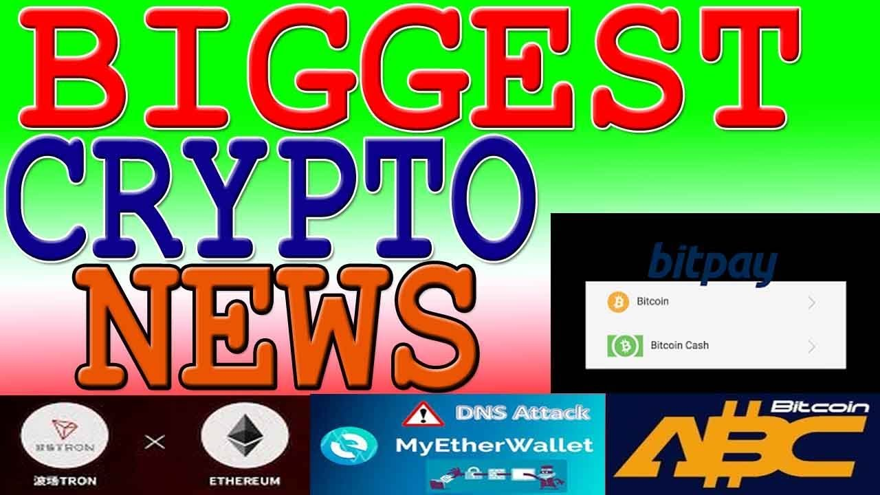 Latest Cryptocurrency News   BitcoinCash Hardfork   Tron Airdrop & New Office    Bitpay accept BCH
