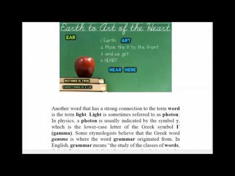 Deception of the English Language: Phonics, Etymology, Definition & Hidden Meanings