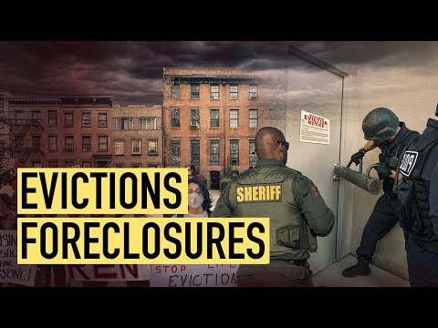 Millions Face Evictions And Foreclosures In 2021 As Unemployment Benefits End