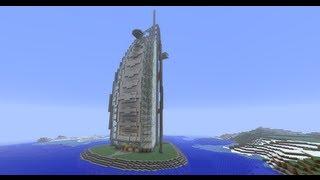 Burj Al Arab 7-Starred Hotel: Minecraft
