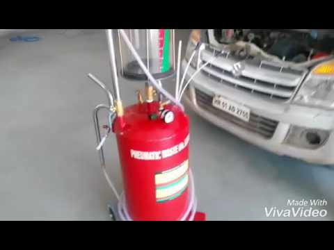 Waste Oil Extractor - Pneumatic