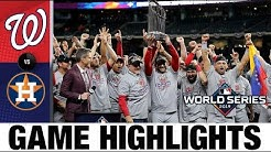 Nationals win 1st World Series with Game 7 comeback win! | Astros-Nationals MLB Highlights