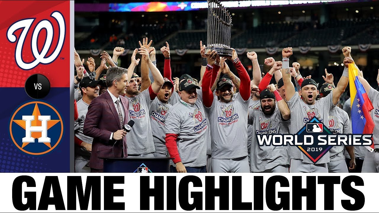 Download Nationals win 1st World Series with Game 7 comeback win! | Astros-Nationals MLB Highlights