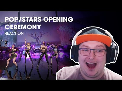 Opening Ceremony - POP/STARS   Finals   2018 World Championship - REACTION!