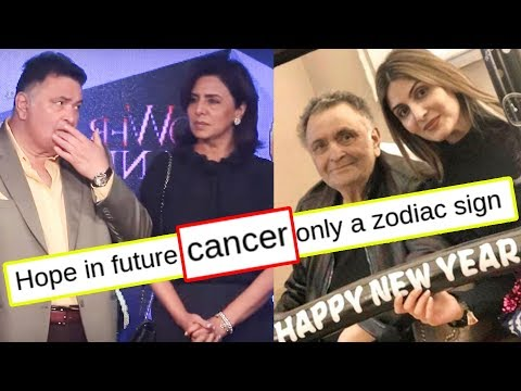 Rishi Kapoor Suffering From Cancer, Wife Neetu Kapoor's MAJOR HINT