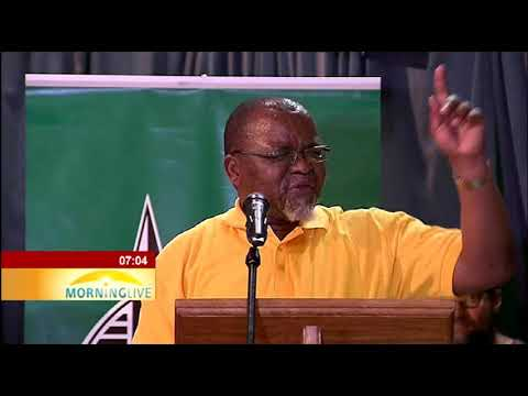 Mantashe speaks out against ANC too many presidential candidates