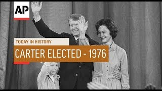 Jimmy Carter Elected - 1976 | Today In History | 2 Nov 18