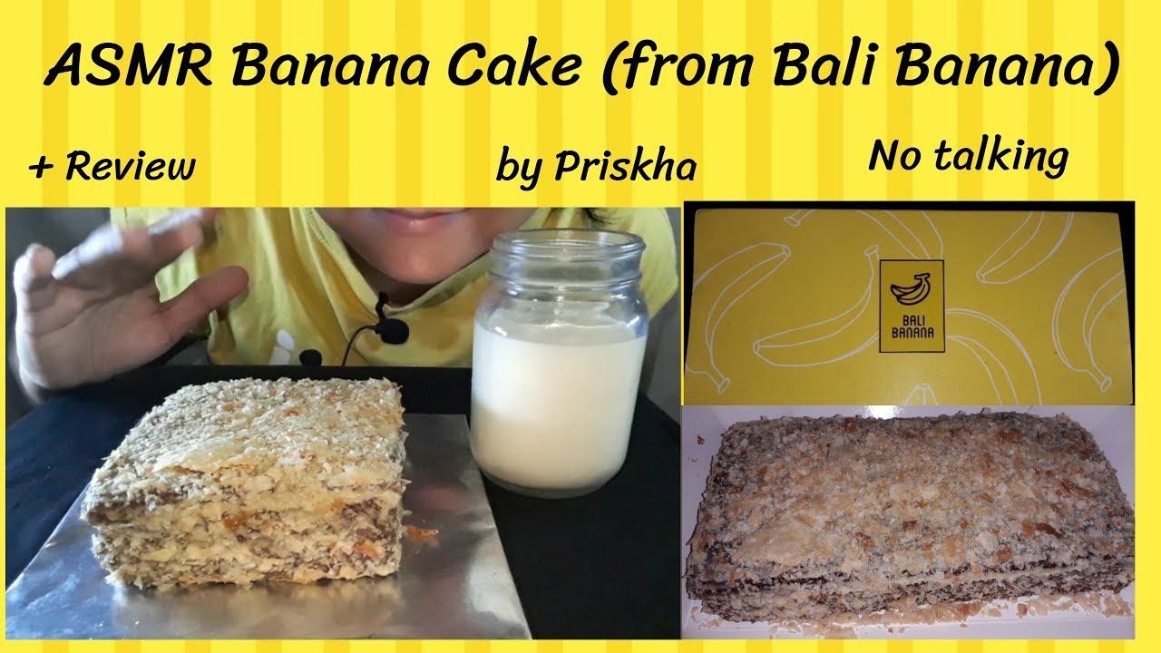 Asmr Review Bali Banana Cake Souvenir From Bali No Talking
