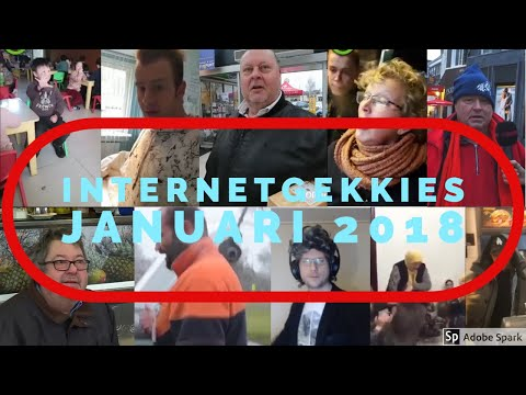 De Internetgekkies van de maand Januari 2018