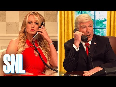 Michael Cohen Wiretap Cold Open  SNL