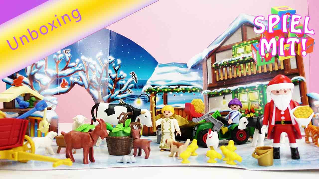 playmobil deutsch adventskalender weihnacht auf dem. Black Bedroom Furniture Sets. Home Design Ideas