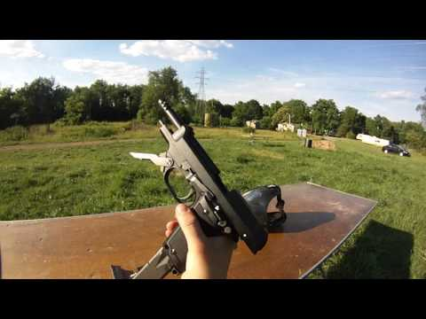 KWA M93R HPA pistol short shooting test